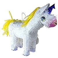 Homeford Unicorn Pinata、ホワイト、19インチ