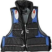 ルナヒサノ ライフジャケット HI5500枕付 フリーサイズ HI5500 ブラック/ブルー フリー