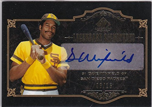 2007 UD SP LEGNDARY CUTS Dave Winfield Auto 直筆サインカード #0615 15枚 SSP Padres Yaees