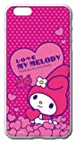 サンリオ iPhone6 Plus(5.5インチ)◆ キャラクター スマートフォン シェル ハード ケース / マイメロディ【MM2019】