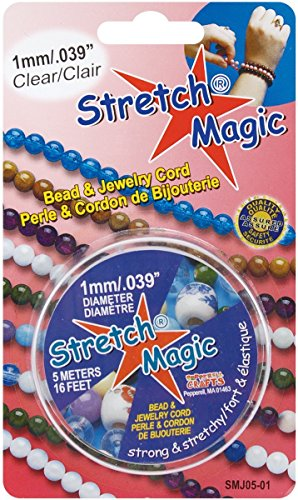 Stretch Magic ビーズ&ジュエリー コード 1.0mm/5m クリア