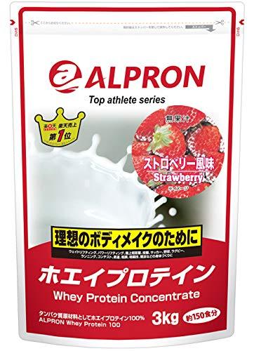 アルプロン トップアスリートシリーズ ホエイプロテイン100 ストロベリー 3kg