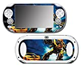 Transformers Bumblebee Autobots Car Auto Robot Video Game Vinyl Decal Skin Sticker Cover for Sony Playstation Vita Regular Fat 1000 Series System by Vinyl Skin Designs [並行輸入品]