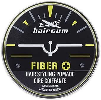 hairgum Fiber+ Pomade 100g【水性ポマード・束感継続・コーラ】