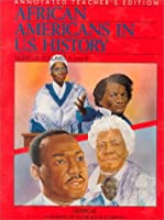 African Americans in U.S. History: Quercus Volumes A and B : Annotated Teacher's Edition (African American in U.S. History)