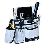 582504 DTL-11-WH DBLTACT 本革腰袋 ホワイト