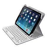 【国内正規代理店品】Belkin ベルキンQODE iPad Air/Air2対応Slim Styleキーボードケース パープル F5L174QEC01
