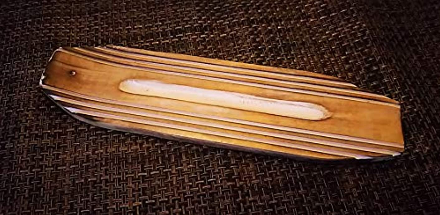 繊維破壊的行う日本ネットワーク サーフボード マンゴーウッド お香立て