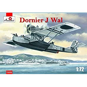 A Model 1/72 スペイン・フランコ軍 ドルニエDo Jワール飛行艇 プラモデル AM72252