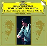 ブラームス:交響曲第3番&第4番