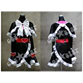 Yes!プリキュア5 キュアブラック風の服 コスプレ 男女XS-XXXL サイズオーダーも対応可能