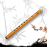 AuCatStore(TM) Traditional 6 Hole Bamboo Flute Clarinet Musical Instrument Wood Color C1L
