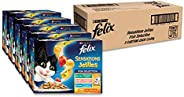 Felix Sensations Jellies - Fishy Selection, Adult and Senior, 60x85g