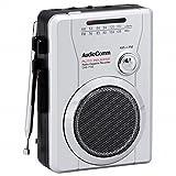 OHM AudioComm ラジオカセット AM/FM ラジオ番組録画可能 CAS-710Z