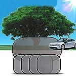5枚セット 日除け   サイドシェード 車内温度下げ カー 窓 折り畳み 日焼け防止 軽量 遮光 サンシェード メッシュ