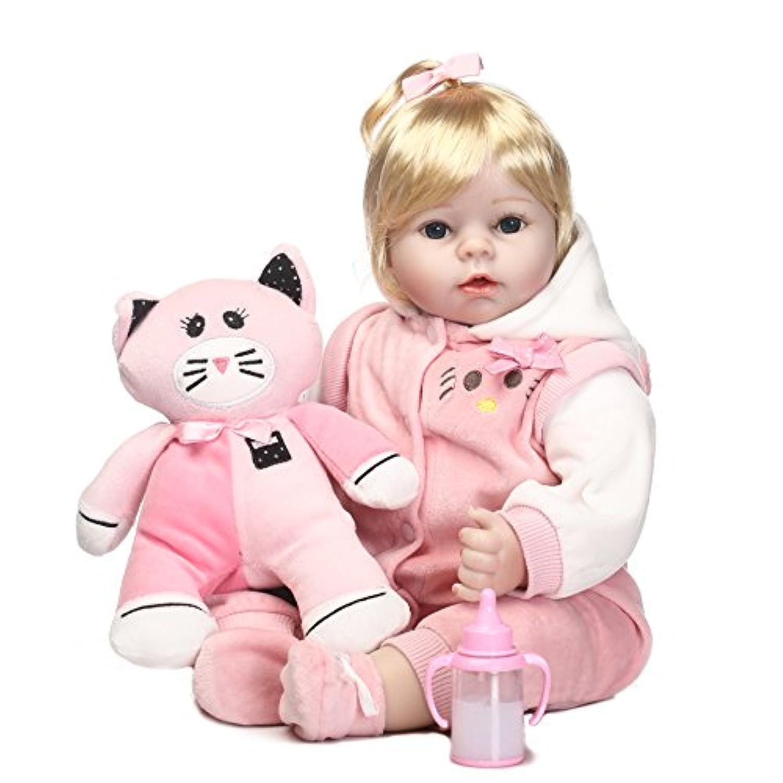 SanyDoll Rebornベビー人形ソフトSilicone 22インチ55 cm磁気Lovely LifelikeかわいいLovely Baby