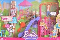 バービーI Can Be。。。preschool teacherプレイセットWバービー人形、ケリー人形、Playgroundスライド&スイング& More 。( 2008)