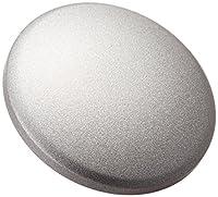 cam-in ソフトシャッターボタン  レリーズボタン ビッグ / 凸面 (直径16mm) (スチールグレー) CAM9029
