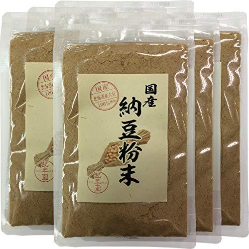 【国産100%】納豆粉末 50g×6袋セット 北海道産大豆使用