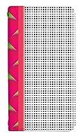 スマホケース 手帳型 ベルトなし lgv34ケース 8094-C. フルーツデザインドラゴンフルーツ lgv34 ケース 手帳 [isai Beat LGV34] イサイ ビート
