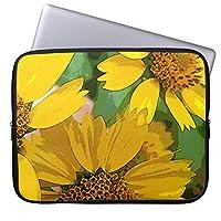 UDDESIGN黄色によってはかわいい花柄が開花します タブレット インナーケース 7-8 インチ iPad mini2 mini3 mini4 スリーブ ケース 撥水 ネオプレーン インナー バッグ 保護 ソフト カバー