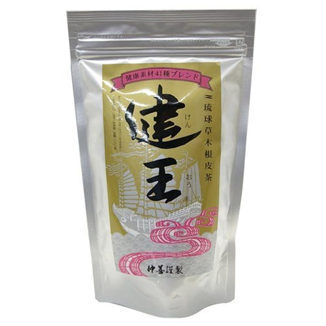印象的な夜間爵琉球草木根皮茶 健王 ティーバッグ 2g×30包