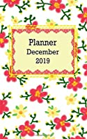 PLANNER 2019: Planner December 2019 for woman ,70 page, 5x8 inches.