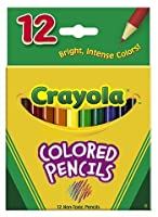 Colored Pencils 12 ct半分長