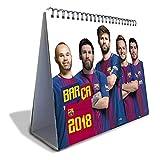 FCBarcelona(FCバルセロナ) オフィシャル 2018 卓上 カレンダー