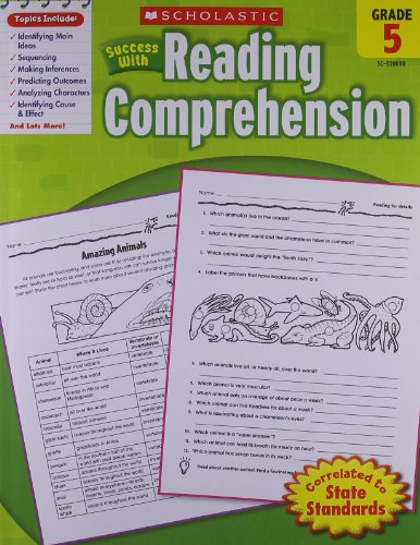 Scholastic『ScholasticSuccessWithReadingComprehension:Grade5』