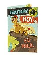 The Lion Guard少年誕生日カード、バッジ