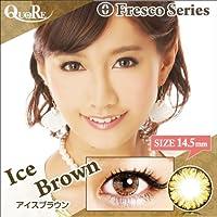 カラコン 度なし 1箱2枚入り QuoRe Fresco Series/ソブレ/119228 14.5mm【IceBrown--0.00】