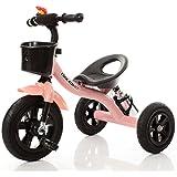 Fenfen子供の三輪車ベビーBike 2 – 6年古い赤ちゃんベビーカー自転車、グリーン/レッド/ピンク/パープル、714858 CM