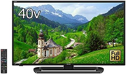 シャープ 40V型 AQUOS フルハイビジョン 液晶テレビ  直下型LEDバックライト 外付HDD対応 LC-40E40 (2017年モデル)