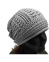 (ディグズハット)DIGZHAT サマーコットンデザイン編みニット帽 薄手ニットキャップ帽子