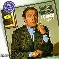 ミルシテイン独奏 バッハ無伴奏ヴァイオリンのためのソナタとパルティータの商品写真