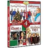 Hallmark Holiday Collection Movie 4 Pack (Trading Christmas, Lucky Christmas, Case For Christmas, National Tree) (Hallmark)