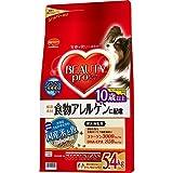 ビューティープロ ドッグ 食物アレルゲンに配慮 10歳以上 国産米と魚 5.4kg