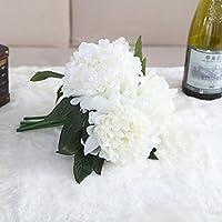 TOPmountain 人工偽物 牡丹 花束 フラワーブライダル ホームウェディング 庭園 アジサイ