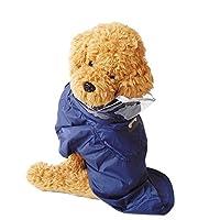 k-city(ケーシティ) 犬服 犬 服 犬の服 レインコート カッパ 雨具 ドッグウェア 洋服 Mサイズ ネイビー M ネイビー