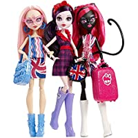 Monster High Ghoulebrities in Londoom 3 Doll Set