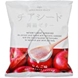 チアシード蒟蒻ゼリー 1袋10個入り (りんご味)
