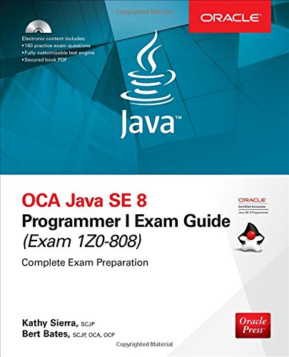 Download OCA Java SE 8 Programmer I Exam Guide (Exams 1Z0-808) 1260011399