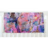 KESS InHouse Nikki Strange Sparkle Mist Fleece Baby Blanket 40 x 30 [並行輸入品]