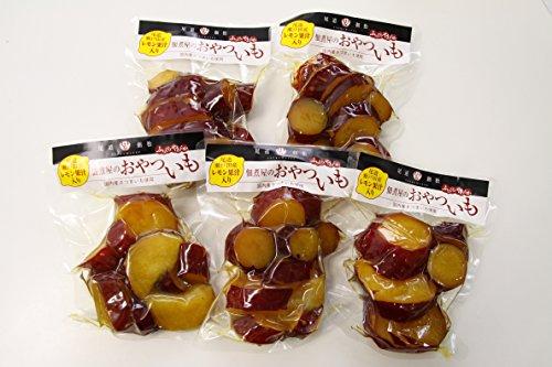 佃煮屋のおやついも 160g×5袋 【尾道瀬戸田産レモン果汁入り和風スイーツ】 国産さつまいも使用 SAKAKINO