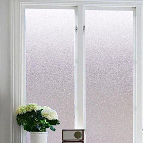 JPC 窓用フィルム 目隠しシート 90x200cm 目隠しフィルム ガラスフィルム 無接着剤 静電気の力で吸着 断熱 紫外線カット遮光 再利用可能 窓飾り