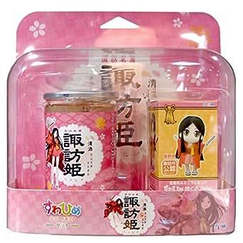 清酒諏訪姫 フィギュアセット諏訪姫カップ180ml詰×1本 フィギュア「着ぐるみver.」×1個