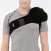 Bracoo アイシングサポーター スポーツ用 氷嚢 けが 腫れ 応急処置 アイシング 肘 肩 膝 腰(6インチのアイス?ホットバッグ付き)