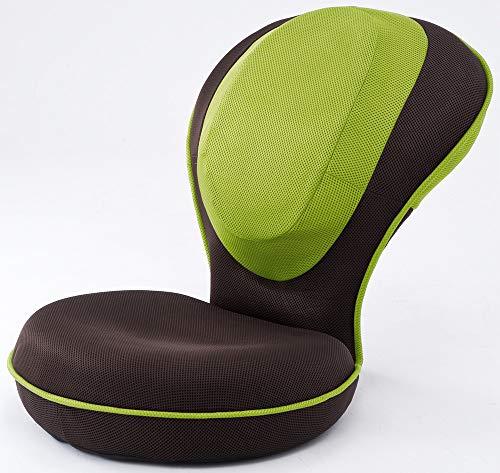 背筋がGUUUN 美姿勢座椅子 グリーン(姿勢補正+体の歪みストレッチ座椅子)