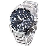 [セイコーウォッチ] 腕時計 アストロン ASTRON(アストロン) ソーラーGPS衛星電波 チタンモデル ワールドタイム機能 デュアルタイム表示 デュアルカーブサファイアガラス SBXC067 メンズ シルバー